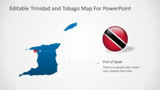 Presentation of Trinidad and Tobago Map