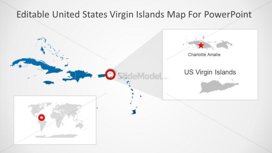 Editable Maps of Virgin Islands