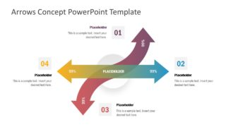 Arrows Concept PowerPoint Template