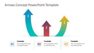 Infographic PowerPoint Arrow Concept