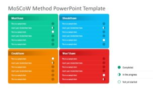 MoSCoW Method PowerPoint Template