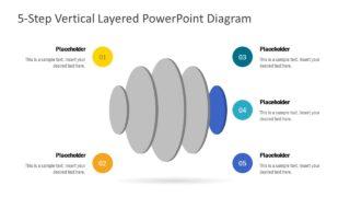 3D Rotate Circular Segments PPT