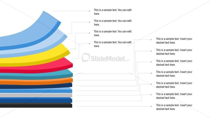 Layered Label Diagram Template