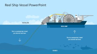 Reel Ship Vessel PowerPoint