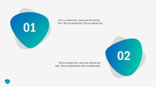 Gradient Design of Abstract PowerPoint