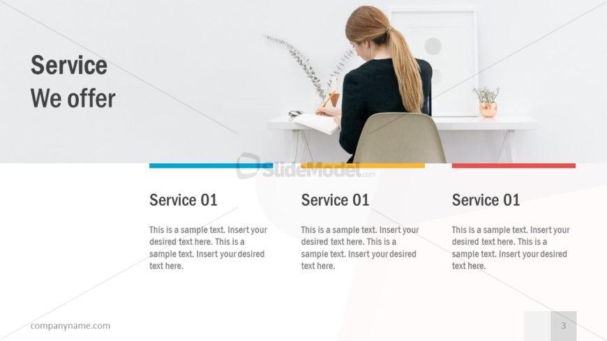 Pitch Slide Deck Service Layout