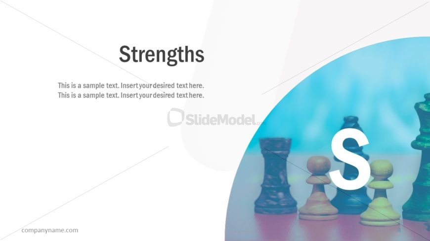 Pitch Slide Deck Strengths Layout