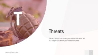 Pitch Slide Deck Threats Layout