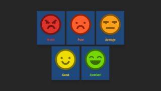 Survey Feedback PowerPoint Emoji
