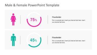 Infographic Comparison PowerPoint Chart