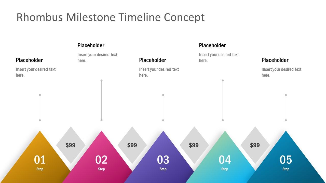 Flat PowerPoint Timeline Presentation