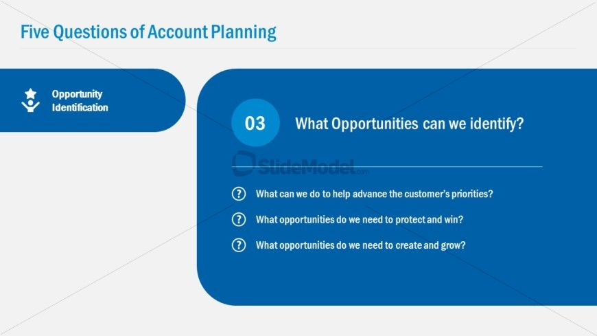 Account Plan Opportunity Identification Template