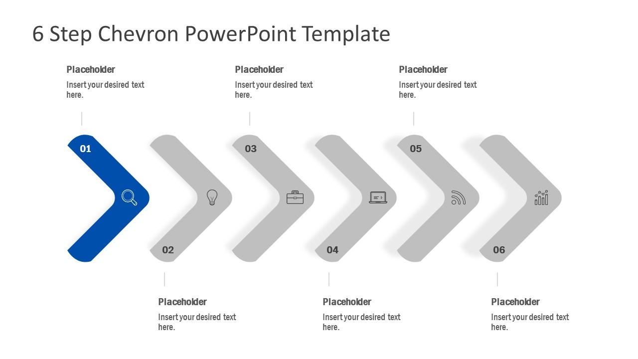 Presentation of Chevron Arrow Design