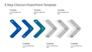 Business Timeline 6 Arrow Chevron