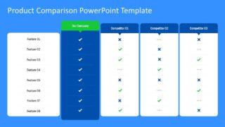 Data Table PowerPoint Marketing
