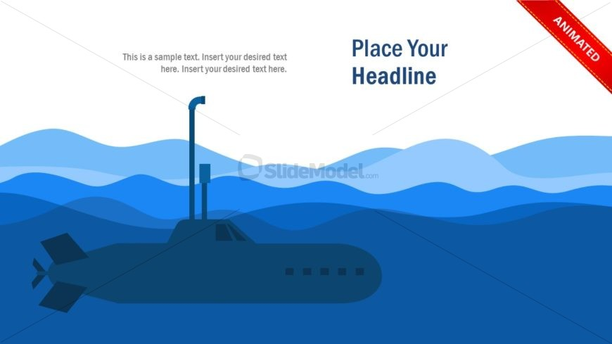 Animated Periscope of Submarine PowerPoint