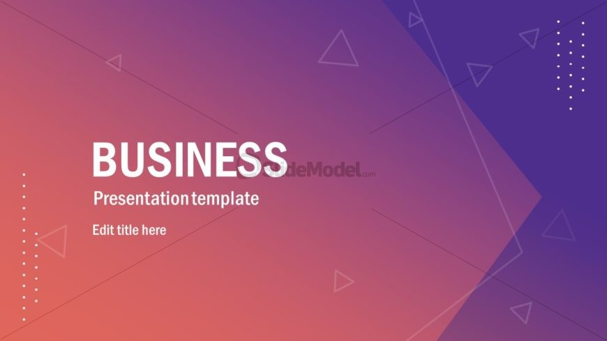 Infographic PowerPoint Business Template