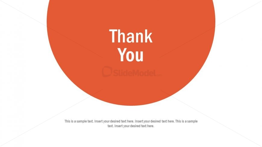 Slide Layout for Thank You
