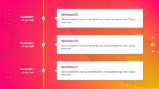 Presentation of Vertical Timeline