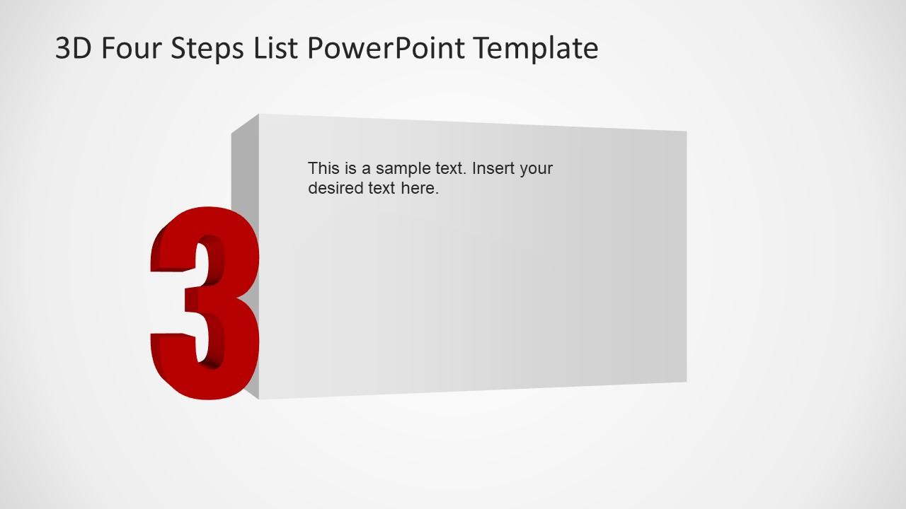 3rd Step of Presentation Details