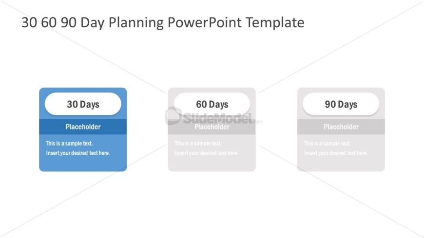 Presentation of 30-60-90 Day Planning