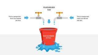 Business PowerPoint Leaky Bucket