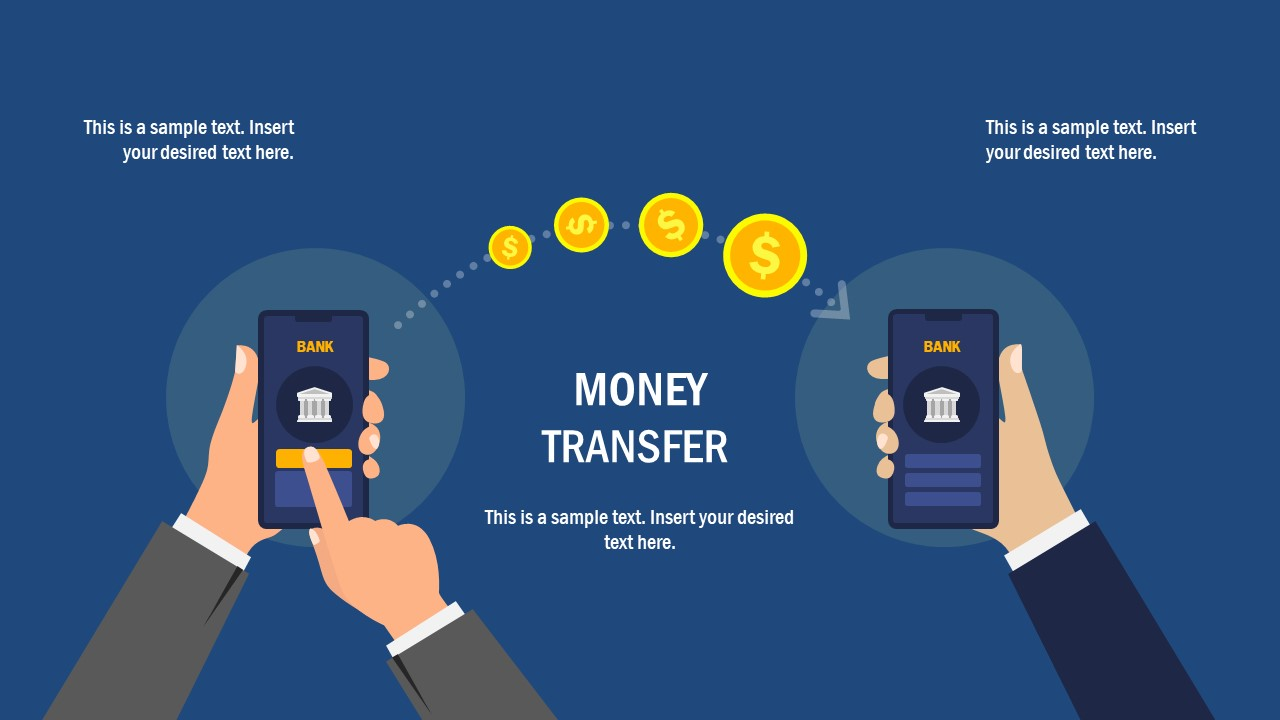 Illustration of Money Transfer Online