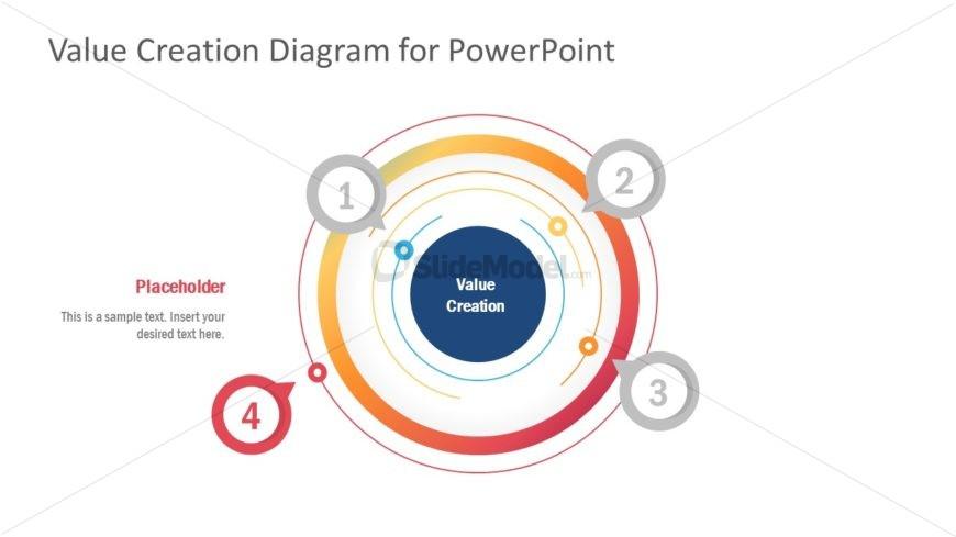 Infographic 4 Steps Circular Diagram