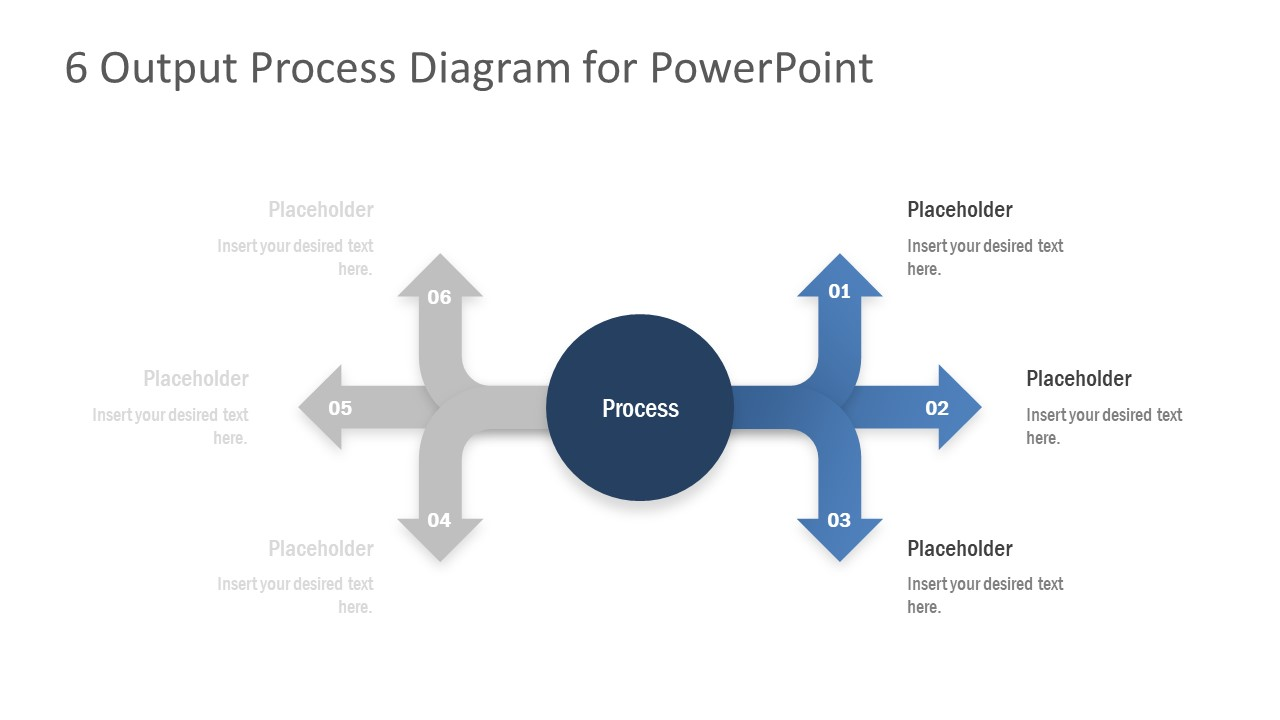 Presentation of Arrow Shapes for Output