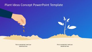 Plant Ideas Concept PowerPoint Template