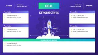 Single Slide Business Plan Layout