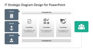 IT Strategic Diagram Design for PowerPoint