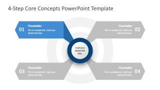 Core Values PowerPoint Diagram
