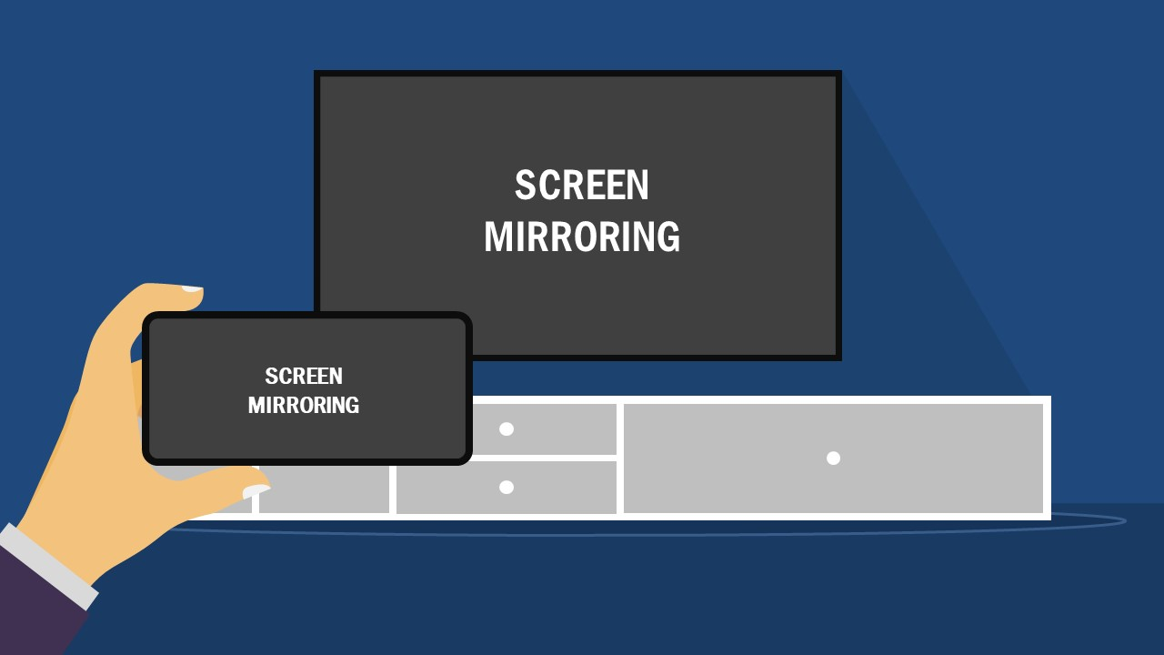 PPT TV Screen and Phone Screen