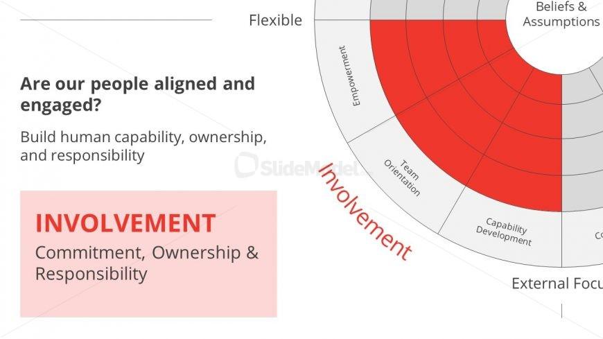 Slide of Denison Model Involvement Section