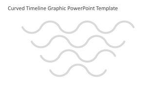 PPT Curved Lines for Timeline