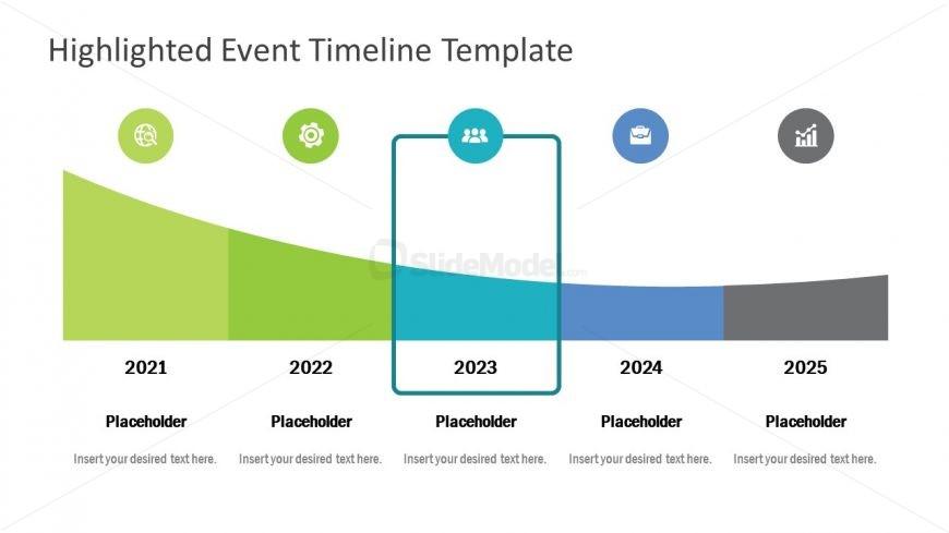5 Frames of Highlighting Timeline