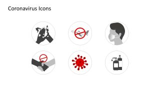 Coronavirus Icons for PowerPoint