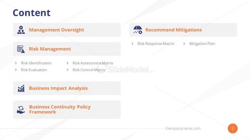 PowerPoint Presentation Agenda Template