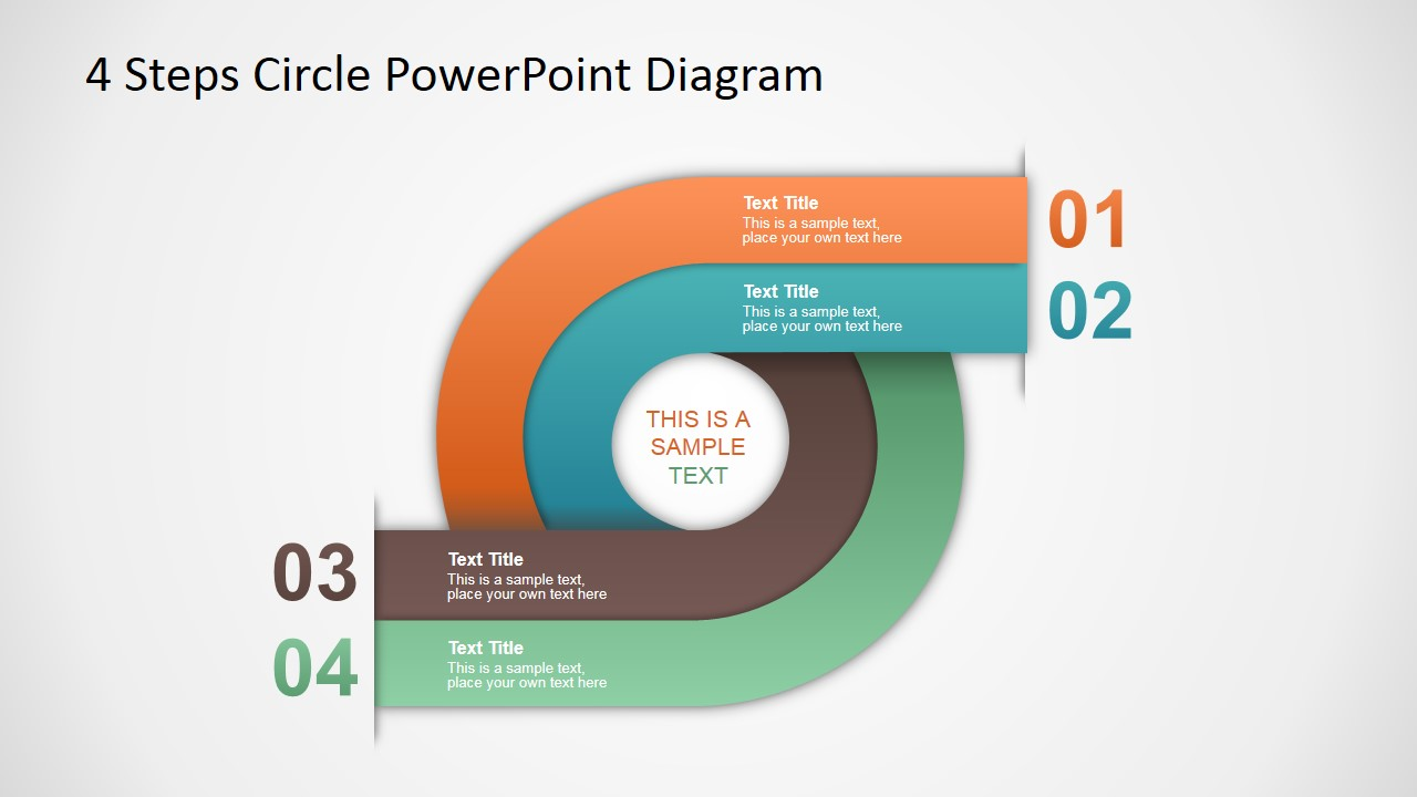 steps circle powerpoint diagram   slidemodel steps circle powerpoint diagram