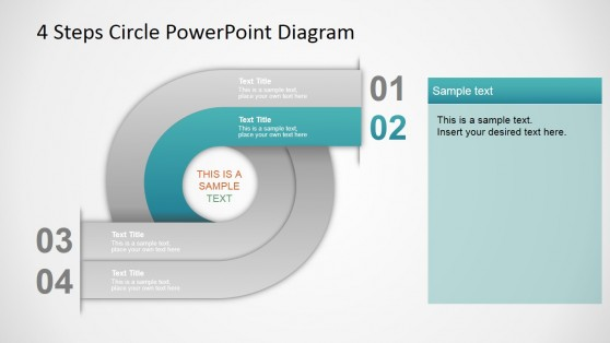 Gradient Circular Diagram for PowerPoint
