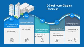 Business PowerPoint Curved Template