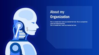 Flat Robotic PowerPoint Templates