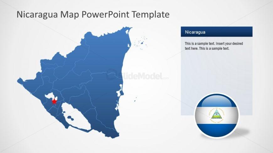 Editable Municipalities of Nicaragua