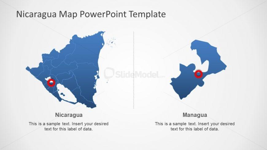 Outline Map of Nicaragua Presentation