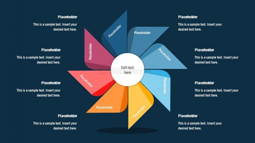 Cover Slide of Pinwheel Diagram