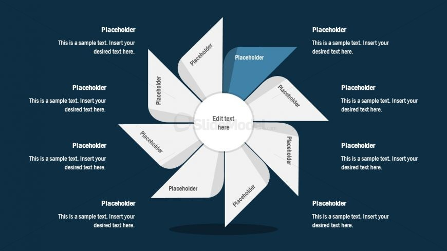 FlyWheel PowerPoint 1 Segment Process Cycle