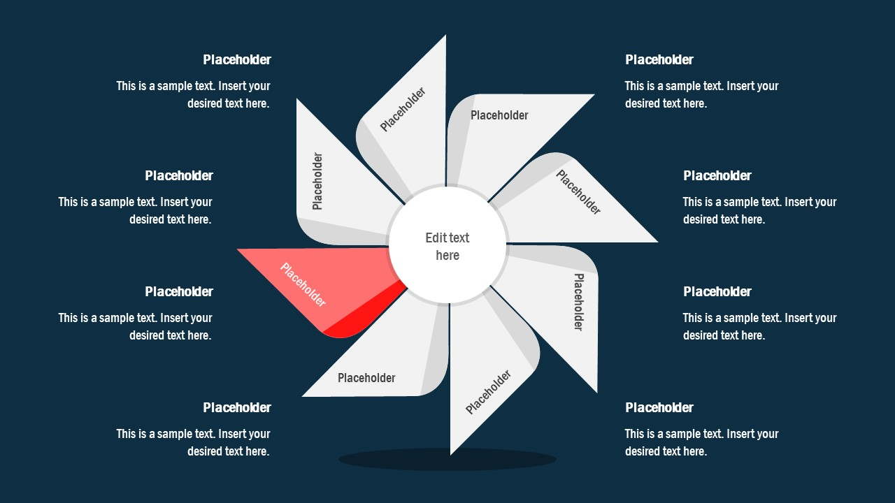 7 Steps of Pinwheel PPT