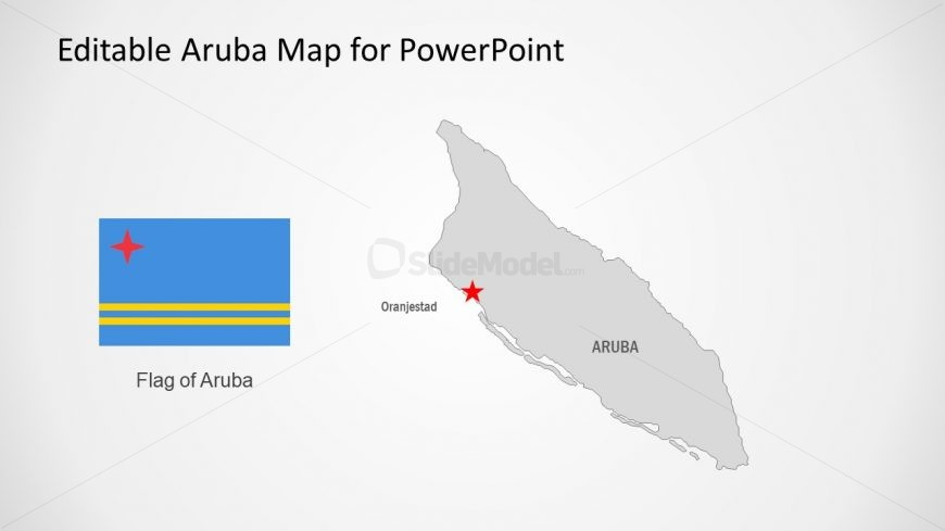 Template of Aruba Map