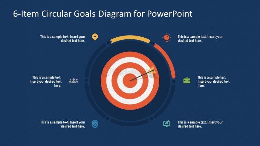 PowerPoint Step 2 Circular Goals Slide